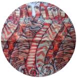 шифоновый шарф с рисунком 167см*50см цвет 004
