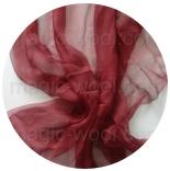 шарфы шелковые окрашенные однотонные и с переходами вишня