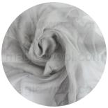 шарфы шелковые окрашенные однотонные и с переходами светло серый