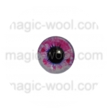 глазки для игрушек стеклянные 10мм цвет №4