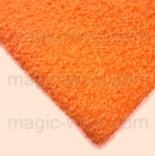 мех для игрушек мохер 7мм оранжевый