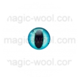 глазки для игрушек стеклянные реалистичные цвет №11