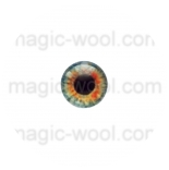 глазки для игрушек стеклянные 10мм цвет №9