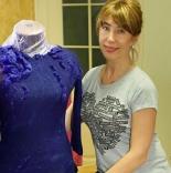 книги и мастер классы мастер класс Нуновойлочная блуза с цветами и фактурными декорами