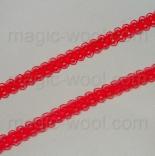 кружево полиэстер красное 10мм