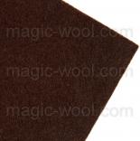 фетр 3мм 20смх30см полиэстер фетр 3мм коричневый