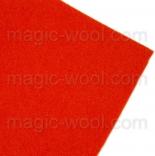 фетр 3мм 20смх30см полиэстер оранжевый