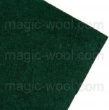 фетр 3мм 20смх30см полиэстер темно зеленый