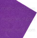 фетр 3мм 20смх30см полиэстер светло фиолетовый 3мм