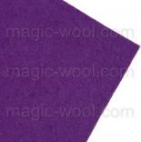 фетр 3мм 20смх30см полиэстер фиолетовый