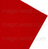 фетр 3мм 20смх30см полиэстер красный