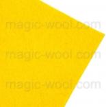 фетр 3мм 20смх30см полиэстер желтый