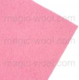фетр 3мм 20смх30см полиэстер розовый