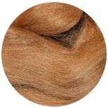 вискоза для валяния светло коричневая матовая