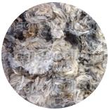 кудри и флис натуральные не окрашенные флис Romney оттенки серого с коричневыми концами