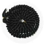 волосы для кукол черные 100см