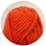ровница, шерстяная пряжа для валяния морковь