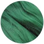 акрил для валяния и прядения темно зеленый