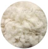 кудри и флис натуральные не окрашенные полвард (polwarth) промытый фабрично