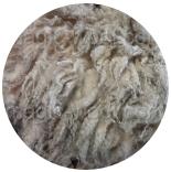 кудри и флис натуральные не окрашенные флис шетланд натурально светлый