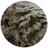 кудри и флис натуральные не окрашенные шетланд пепельно коричневый