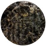 кудри и флис натуральные не окрашенные венследейл черно серые оттенки с коричневыми концами