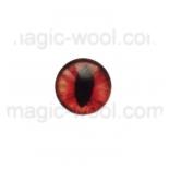 глазки для игрушек стеклянные 10мм цвет №17
