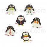 пуговицы декоративные пингвины