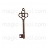 подвески металлические ключ №1 46мм*15мм античная бронза