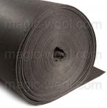 фетр 3мм на метраж полиэстер темно серый