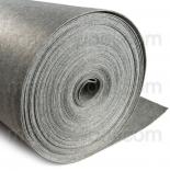 фетр 3мм на метраж полиэстер серый мелированый