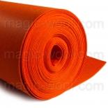 фетр 3мм на метраж полиэстер ярко оранжевый