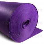 фетр 3мм на метраж полиэстер фиолетовый