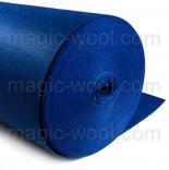 фетр 3мм на метраж полиэстер синий