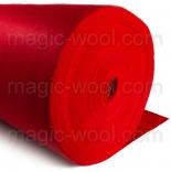 фетр 3мм на метраж полиэстер красный