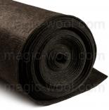 фетр 3мм на метраж полиэстер темно серо коричневый мелированый