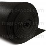 фетр 3мм на метраж полиэстер черный