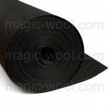 фетр 1мм на метраж полиэстер фетр 058 черный