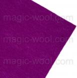 фетр 3мм 20смх30см полиэстер пурпурный