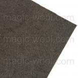 фетр 3мм 20смх30см полиэстер темно серый