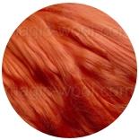 шелк Maulbeer окрашенный Германия ярко оранжевый