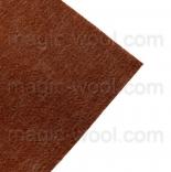 фетр 2мм 20см*30см натуральная шерсть желудь