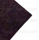 фетр 2мм 20см*30см натуральная шерсть чертополох