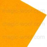 фетр 2мм 20см*30см натуральная шерсть желток