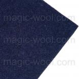 фетр 2мм 20см*30см натуральная шерсть синяя ночь