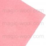 фетр 2мм 20см*30см натуральная шерсть пудра