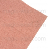 фетр 2мм 20см*30см натуральная шерсть ракушка