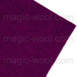 фетр 2мм 20см*30см натуральная шерсть александрит