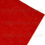 фетр 2мм 20см*30см натуральная шерсть брик