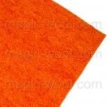 фетр 2мм 20см*30см натуральная шерсть оранжевый